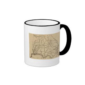Alabama Georgia Florida Coffee Mugs