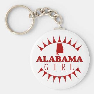 Alabama Girl Keychain