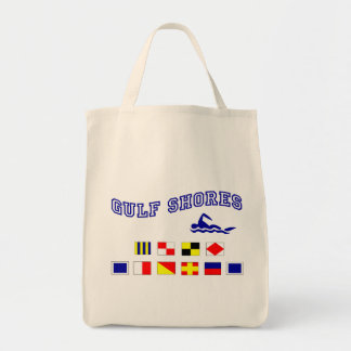 Alabama Gulf Shores 1 Grocery Tote Bag
