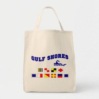 Alabama Gulf Shores 2 Grocery Tote Bag