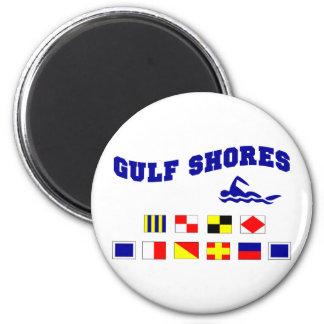 Alabama Gulf Shores 2 Fridge Magnet