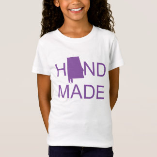 Alabama Hand Made Purple T-Shirt