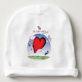 alabama head heart, tony fernandes baby beanie