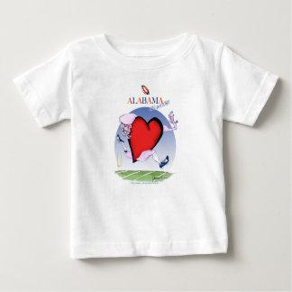 alabama head heart, tony fernandes baby T-Shirt