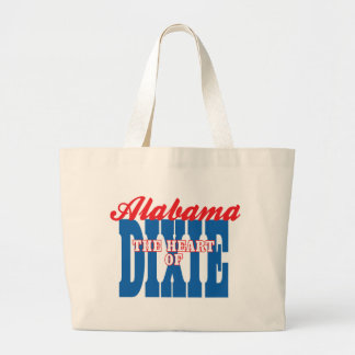 Alabama Heart of Dixie Canvas Bags