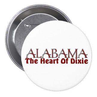 Alabama heart of Dixie button
