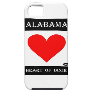 Alabama Heart of Dixie Cover For iPhone 5/5S