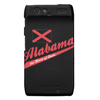 Alabama Heart of DIxie Droid RAZR Cover