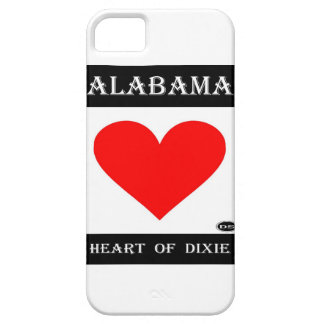 Alabama Heart of Dixie iPhone 5/5S Covers