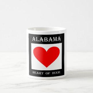 Alabama Heart of Dixie Coffee Mug
