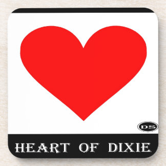 Alabama Heart of Dixie Beverage Coasters