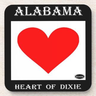 Alabama Heart of Dixie Coasters