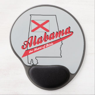 Alabama Heart of Dixie Gel Mouse Pad