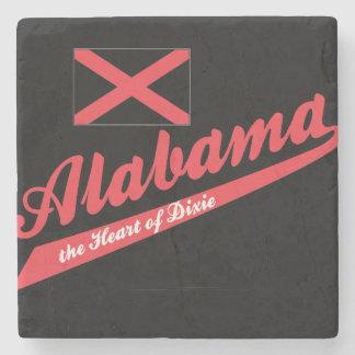 Alabama Heart of Dixie Stone Coaster