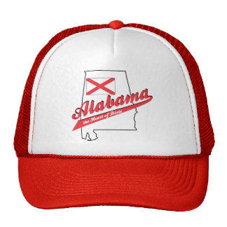 Alabama Heart of Dixie! Mesh Hat