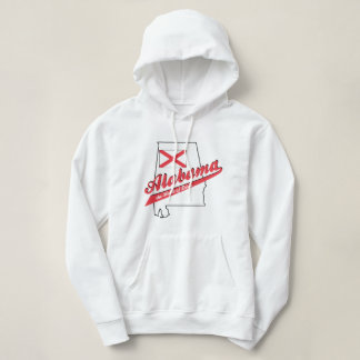 Alabama Heart of Dixie Hooded Sweatshirt for Women