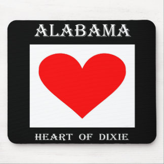 Alabama Heart of Dixie Mouse Pad