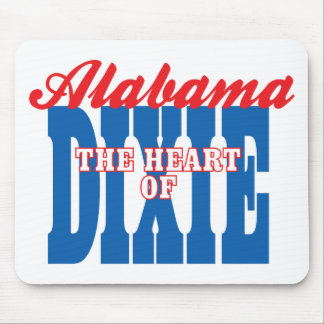 Alabama Heart of Dixie Mouse Pads