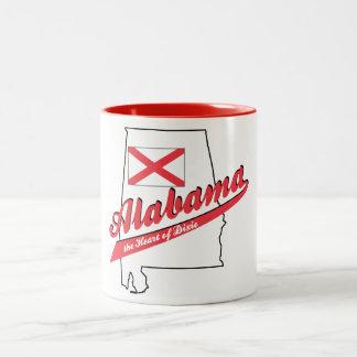 Alabama Heart of Dixie! Mugs