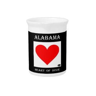 Alabama Heart of Dixie Pitcher