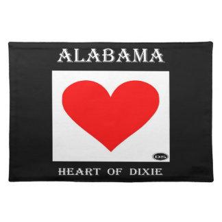 Alabama Heart of Dixie Place Mat