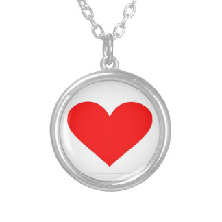 Alabama Heart of Dixie Round Pendant Necklace