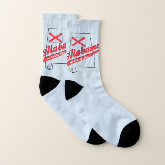 Alabama Heart of Dixie Socks Sm 9-10 1