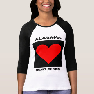 Alabama Heart of Dixie T-Shirt