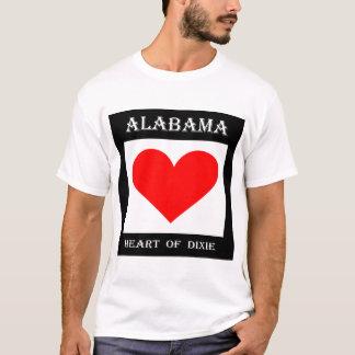 Alabama Heart of Dixie T-Shirt