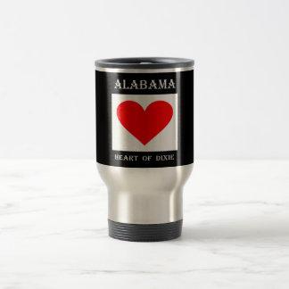 Alabama Heart of Dixie Travel Mug