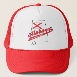 Alabama Heart of Dixie! Trucker Hat