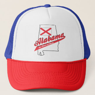 Alabama Heart of Dixie Trucker Hat