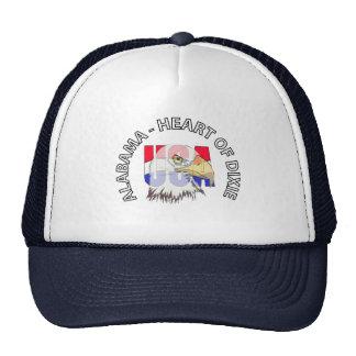 Alabama Heart of Dixie USA Hat