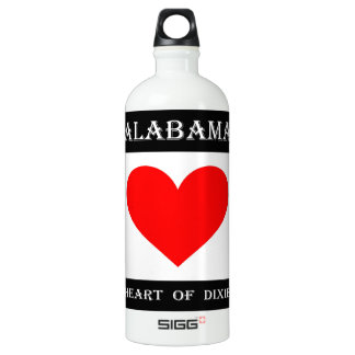 Alabama Heart of Dixie Water Bottle