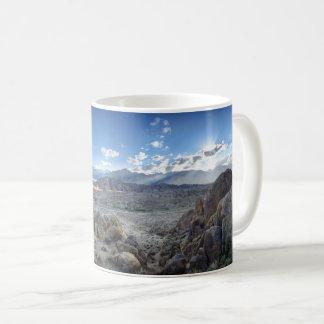 Alabama Hills Panorama - Owens Valley - Sierra Coffee Mug