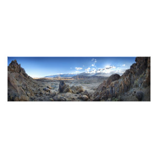 Alabama Hills Panorama - Owens Valley - Sierra Photo Print
