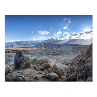 Alabama Hills Panorama - Owens Valley - Sierra Postcard