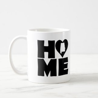 Alabama Home Heart State Mug or Travel Mug