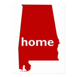 Alabama Home Postcard