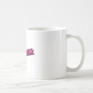 Alabama in magenta coffee mugs