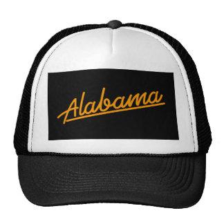 Alabama in orange hat