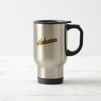 Alabama in orange coffee mugs