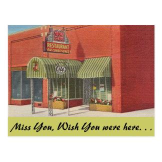 Alabama, Iron Gate Restaurant Postcard