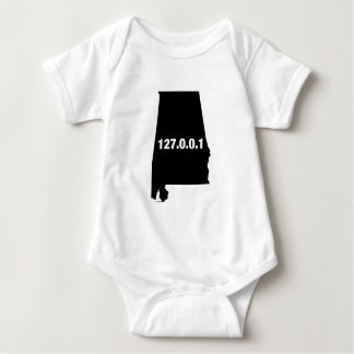 Alabama Is Home Programmer Baby Bodysuit