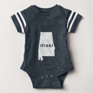 Alabama Is Home Programmer Baby Bodysuit