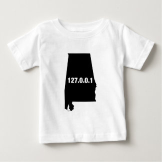 Alabama Is Home Programmer Baby T-Shirt