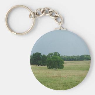Alabama Landscape Basic Round Button Key Ring