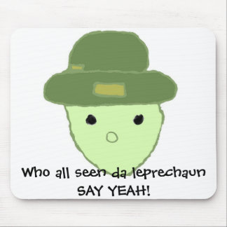 Alabama Leprechaun Mouse Pad