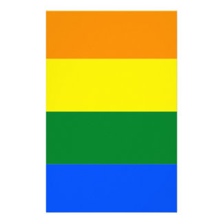 Alabama LGBT Flag Stationery