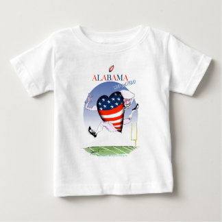 alabama loud and proud, tony fernandes baby T-Shirt